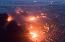 incendiu fabrica china