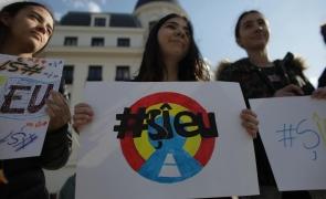 Inquam protest studenți