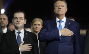 Inquam Klaus Iohannis Ludovic Orban Iohannis Orban