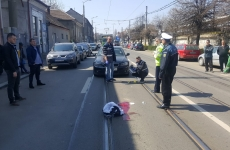 Accident rutier pieton