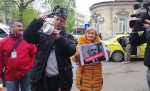 protest ICCJ Liviu Dragnea