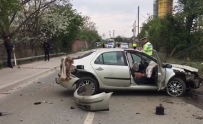 Accident rutier Cluj