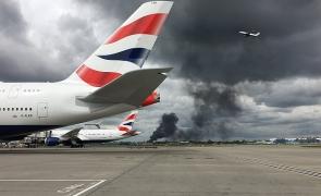 Incendiu Heathrow, Marea Britanie
