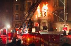 incendiu, New York, Harlem