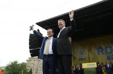 Iohannis miting PNL Victoriei
