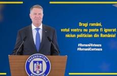 Klaus Iohannis  foto coperta dupa alegeri
