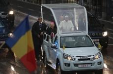 Inquam Papa Francisc papamobil