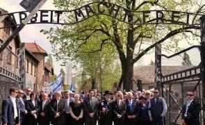 Viorica Dăncilă Auschwitz