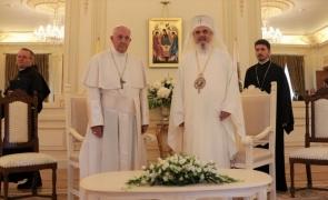 Patriarhul Daniel Papa Francisc
