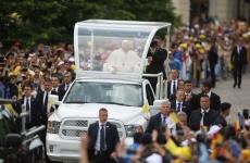Inquam Papa Francisc papamobil Iași