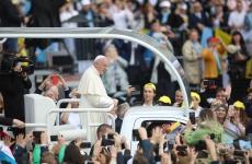 Inquam Papa Francisc Iași papamobil