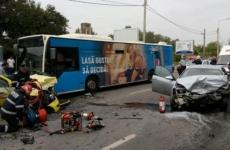 accident grav Bucuresti