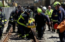 Boston accident metrou