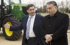 Mészáros Lőrinc și Viktor Orban