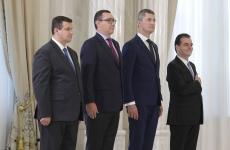 Ceremonie Pact Cotroceni Ponta Tomac Orban Iohannis Barna