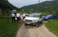 politisti Maramures fetita ranita