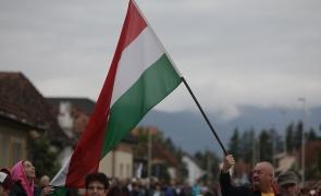 Sumuleu Ciuc steag ungaria