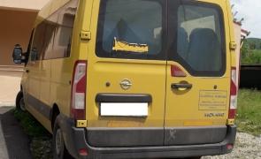 Microbuz, șofer, băut