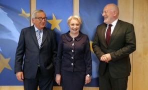 dancila timmermans juncker dancila timmermans dancila