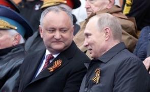 Igor Dodon Vladimir Putin