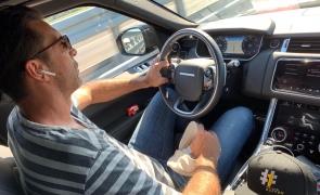 Gianluigi Buffon in masina