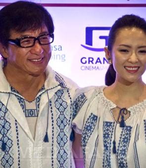 Jackie Chan şi Ziyi Zhang ie romaneasca