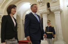 Maia Sandu Klaus Iohannis
