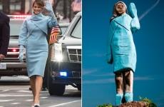 Melania Trump statuie Slovenia
