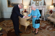 Boris Johnson regina