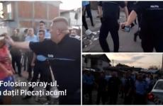 tanar nevinovat ridicat politisti