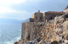 Peloponnese_Monemvasia turism grecia munte stanca