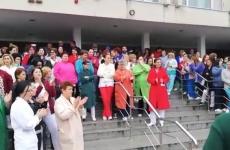 Protest spital Craiova