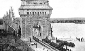 Anghel Saligny Bridge dunare podul