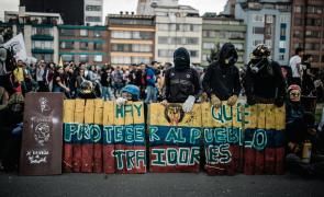 Columbia proteste Bogota