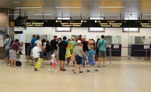 control pasapoarte aeroport