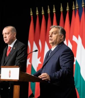 Recep Tayyip Erdogan Viktor Orban Erdogan Orban
