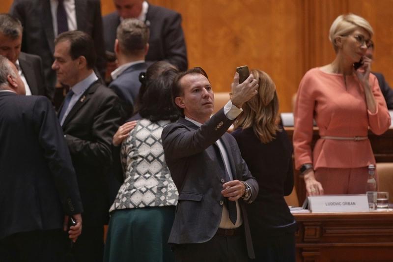 VIDEO Florin Cîțu, mulțumiri ca la Oscar, după ce a fost propus premier: 'Desemnarea mea e o garanție pentru depesedizarea României'