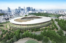 Noul stadion olimpic Tokyo