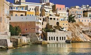 Syros Siros grecia vacanta biserici