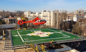 elicopter heliport spitalul universitar bucuresti