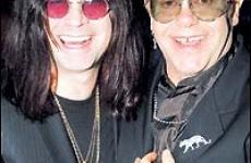 Ozzy Osbourne si Elton John