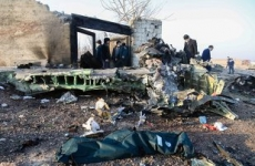 Iran avion prabusit