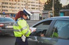 politista rutiera scrie amenda