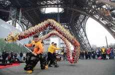Festivitati Paris An nou chinezesc