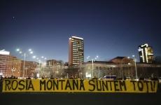 Inquam protest Roșia Montană