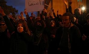 protest iran teheran