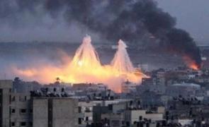 fosfor alb bombardament