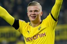 Haaland Borussia Dortmund