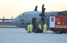 romani coronavirus repatriere avion
