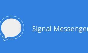 Logo aplicatie signal mesagerie